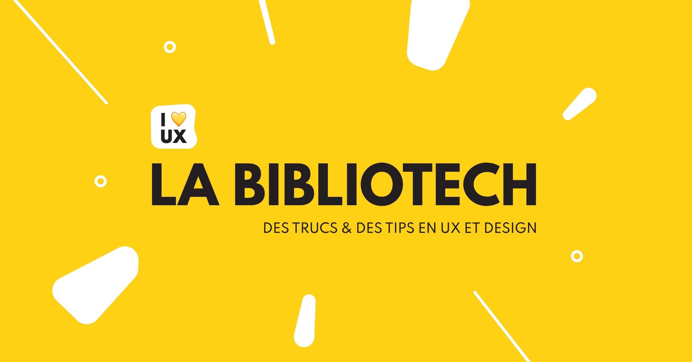 bibliotech ux design thinking